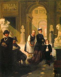 02_Moritz_Daniel_Oppenheim-_Museumsbesucher,_1865