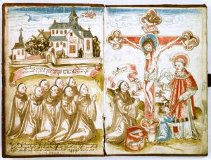 09_Kloster_Naumburg_bei_Erbstadt._Aquarell_aus_dem_Salbuch_von_1514