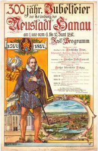 Plakat_Jubelfeier_Hanau_1897