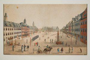 Stadtansichten_Marktplatz-um-1820