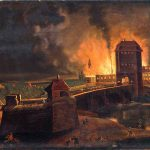 Kampf an der Kinzigbrücke am 31.10.1813