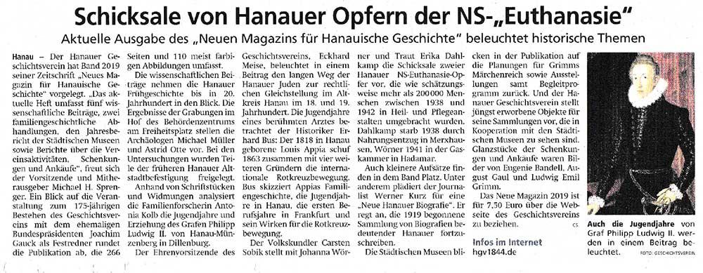 Hanauer Post 15.04.2020