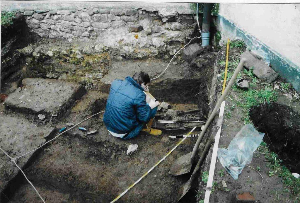 Archäologische Ausgrabung in Wachenbuchen